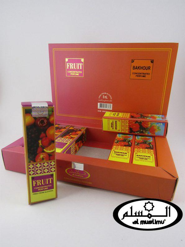 Almuslimu Parfum Box (isi 6) Aroma Fruit & Sakhou