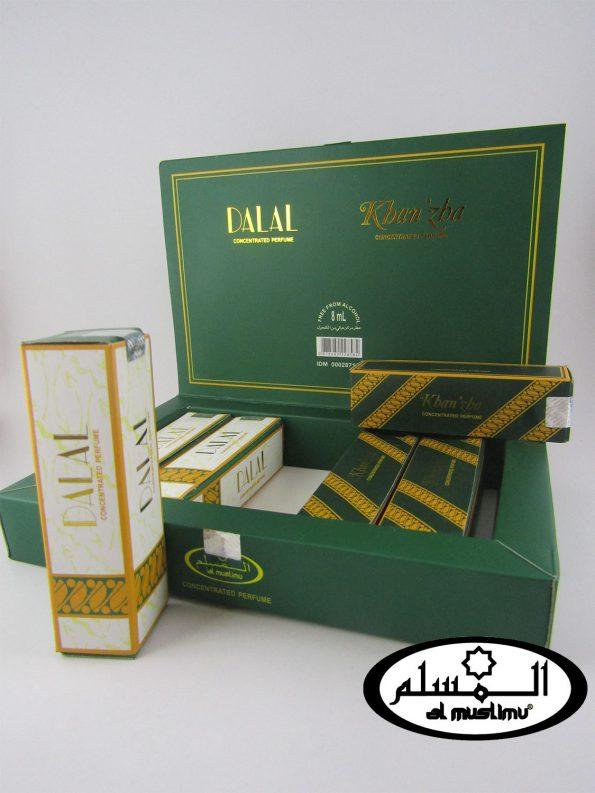 Almuslimu Parfum Box (isi 6) Dalal & Khanza
