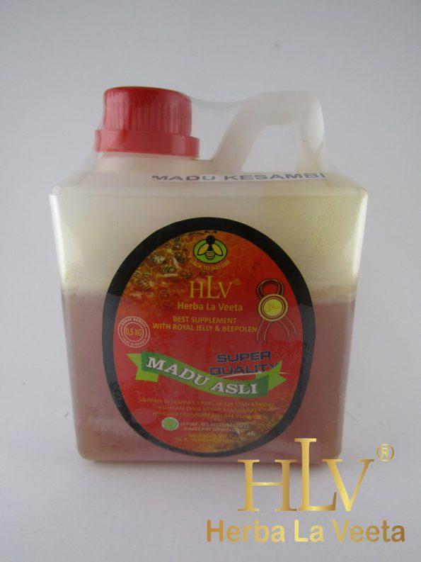 HLV Madu Asli 0,5 Kg (madu berbagai bunga)