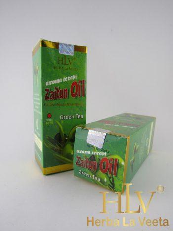 HLV minyak zaitun aroma green tea